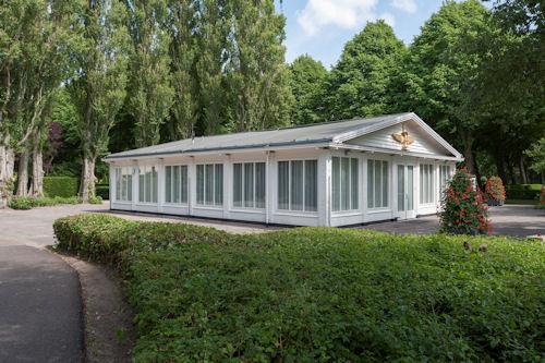 Crematorium Hofwijk Witte kapel