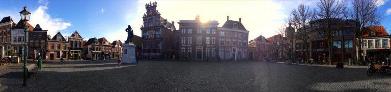 Afbeelding binnenstad hoorn
