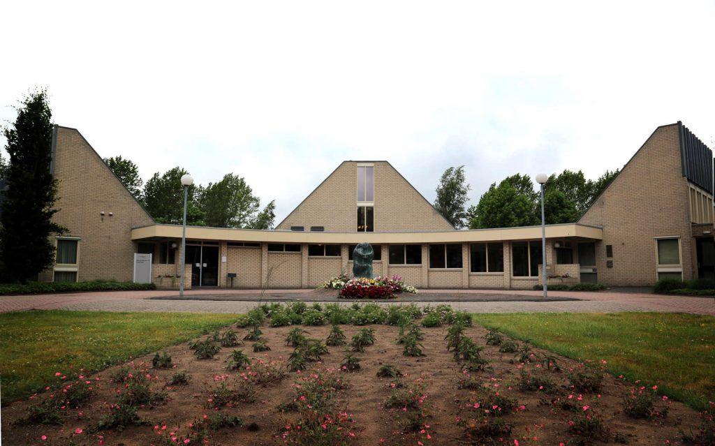 Crematorium Diepenveen in de winter