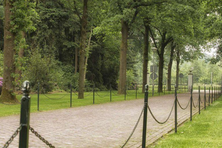 Pad naar het crematorium in Enschede