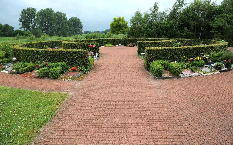 Tuin van crematorium Heereveen
