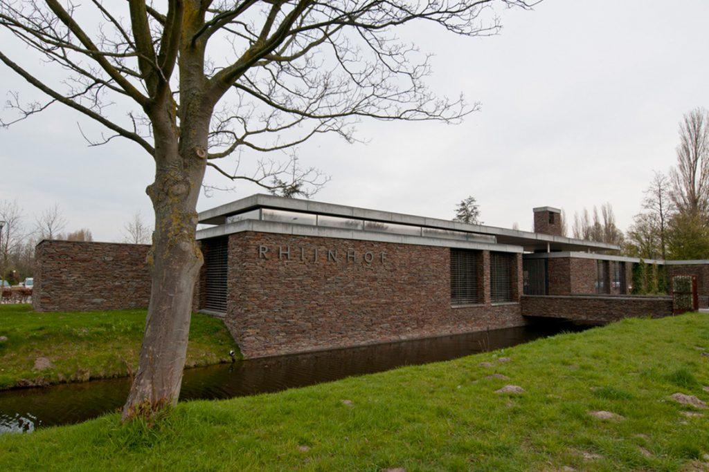 Crematorium Leiden vooraanzicht