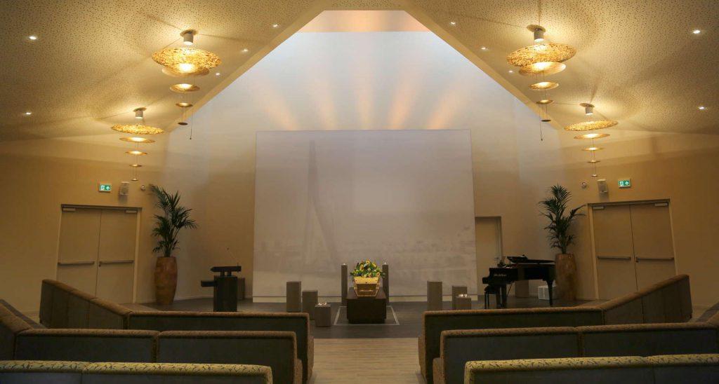 Crematorium Rotterdam Zuid grote aula